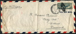 1941 USA Harkon On Hudson, New York Censor Airmail Clipper Cover - Denmark - United States