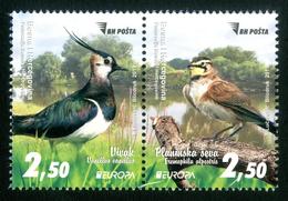 BOSNIA HERZEGOVINA MAIN POST (SARAJEVO) 2019 EUROPA BIRDS 2 Stamps Se-tenant MNH ** - 2019