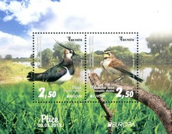 BOSNIA HERZEGOVINA MAIN POST (SARAJEVO) 2019 EUROPA BIRDS S/S Souvenir Sheet MNH ** - 2019