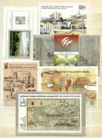 Israel 6 HB En Nuevo - Hojas Y Bloques