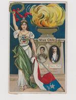 Chile,  1810-1910, Independencia  - F.p. -  Anno 1910 - Chile