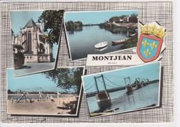 49 MONTJEAN Multivue ,tampon Le Chèque Postal économise Temps Et Argent - France