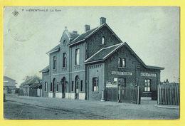 * Herentals - Hérenthals (Antwerpen - Anvers) * (SBP, Nr 7) La Gare, Railway Station, Bahnhof, Statie, Telegraphes, TOP - Herentals