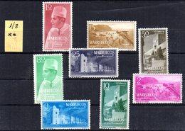Serie Nº 1/8  Marruecos Zona Norte - Spanisch-Marokko