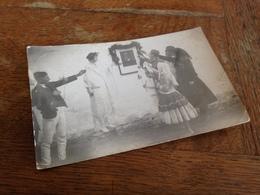 EHRERBIETUNG DEM PRAESIDENTEN (?) - BUDKOVCE - POSTA CESKOSLOVENSKA - 1925 - Nach BURGDORF SCHWEIZ - Foto