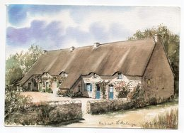 SAINT LYPHARD--KERHINET--L'Auberge De Kerhinet D'après Aquarelle De Roland Chetelat...à Saisir - Saint-Lyphard