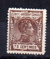 Sello Nº 44 Elobey - Elobey, Annobon & Corisco