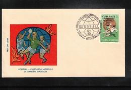 Romania 1974 World Handball Champion Interesting Cover - Handball