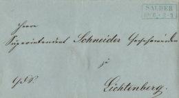 1862 SALDER Bfh. N.Lichtenberg - Deutschland