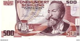 Austria P.151  500 Shillings 1985  A-unc - Austria
