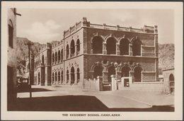 The Residency School, Camp, Aden, C.1910s - Pallonjee, Dinshaw & Co RP Postcard - Yemen
