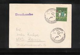Germany / Deutschland DDR 1974 World Handball Championship Interesting Cover - Handball