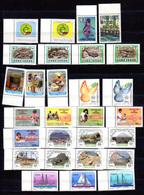 1985-87   Cabo Verde 1985-87,  Yv. 489 / 516** (1986 Complet),  Cote 79 € - Isola Di Capo Verde