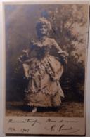 Ragazza - Fotografia - Costumi, Moda - 1903 - La Mode, Carte Photo - Cartoline