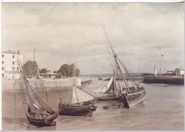 """Musée Albert Kahn -  """" La Sortie Du Port, Vue A Marée Basse """" - Honfleur ( Calvados ) - Musées"""