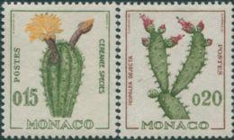 Monaco 1960 SG677-679 Cacti MLH - Monaco