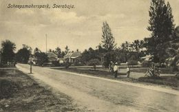 Indonesia, JAVA SOERABAIA, Scheepmakerspark (1910s) Postcard - Indonesië
