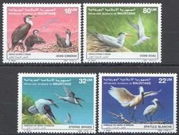N680 1986,1987 MAURITANIE FAUNA BIRDS !!! 2SET MNH - Oiseaux