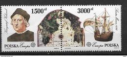 1992 MNH Cept Poland - Europa-CEPT