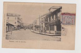 Panama, Calle De Revellin - F.p. -  Anni '1900 - Panama