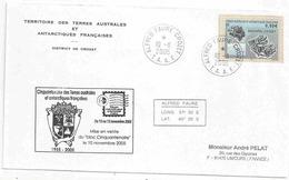 YT 431 - Archipel Crozet - Alfred Faure -10/11/2005 - FDC - Terres Australes Et Antarctiques Françaises (TAAF)