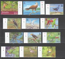 N710 SOLOMON ISLANDS FAUNA BIRDS 1SET !!! MICHEL 42 EURO MNH - Oiseaux