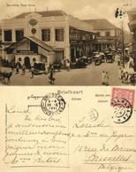 Indonesia, JAVA SOERABAIA, Pasar Gelap, Bank, Escompto Company (1911) Postcard - Indonesië