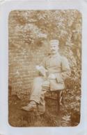 SOMAIN CARTE PHOTO ALLEMANDE 1917 - Francia