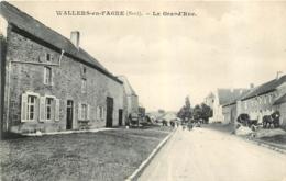 WALLERS EN FAGNE LA GRAND'RUE - France