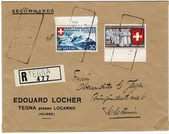 "1939, "" TEGNA - 4.5.39 "" Aushilfs-Stp.,   #a480 - Poststempel"