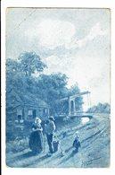 CPA - Carte Postale-Belgique Une Scène Champêtre-1907  VM4677 - Paysans