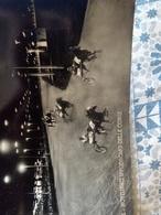 Notturno Ippodromo Delle Corse Montecatini Terme 1952 Timbro Pubblicitario VIAGGIATA - Ippica