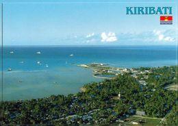 1 AK Kiribati * Blick Aaf Die Insel Betio - Sie Gehört Zum Atoll Tarawa - Luftbildaufnahme * - Kiribati
