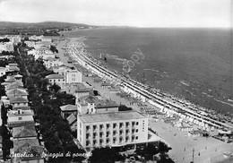 Cartolina Cattolica Spiaggia Di Ponente Panorama Dall'alto 1961 - Rimini