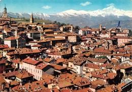 Cartolina Saluzzo Panorama Timbro Avv Emilio Villa 1968 - Cuneo