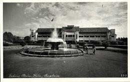 Indonesia, JAVA SOERABAIA, Gedung Balai Kota (1950s) RPPC Postcard - Indonesië