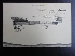 CPA - Monoplan Blériot - Monté Par Olieslaegers Ou Le Démon Belge - Non Circulé - Aviation