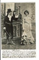 CPA - Carte Postale-Belgique Couple L'homme Offrant Une Petite Fleur à La Femme-1903 VM4682 - Couples