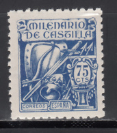 1944 Edifil Nº 979  MNH. Milenario De Castilla. - 1931-Tegenwoordig: 2de Rep. - ...Juan Carlos I