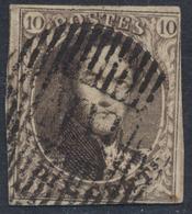 "Médaillon - N°6 Margé Obl Ambulant (17 H) ""M.VI"" çàd Midi N°6. Superbe - 1851-1857 Médaillons (6/8)"