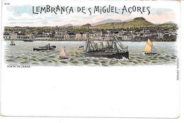 Portugal - Acores - Ponta Delgada - Undivided Postcard - Unused - Açores