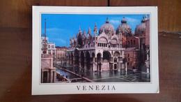 Venise - Place Saint Marc Inondée - Venezia