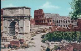 POSTAL ROMA - FORO ROMANO - ARCO DI TITO E COLOSSEO - ESARE CAPELLO - Roma (Rome)