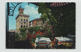 SAINT MARIN PALAZZO DEL GOVERNO DALLA TERRAZZA DEL RITORANTE TITANO - San Marino