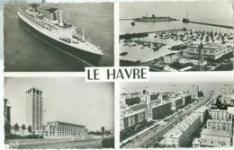 Le Havre; Multi Vues - Voyagé. (Bellevues - Le Havre) - Andere