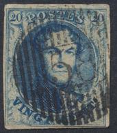"Médaillon - N°7 Margé Obl D58 ""Waterloo"". Superbe ! - 1851-1857 Médaillons (6/8)"