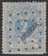 """émission 1869 - N°27 Obl Ambulant Pt """"AM.BR.AR."""" (11mm) çàd Brux - Arlon. Rare Sur Petite Valeur ! - 1869-1888 Lion Couché"""