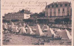 POSTAL FRANCIA -LA COTE D'ARGENT - ARCACHON - LES HOTELS DE FRANCE ET VICTORIA - LA PLAGE - HORDEAUX - Arcachon