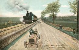Circuit De La Seine Inférieure - La Route Près De Douvrend - Autres Communes