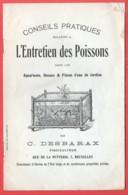 Conseils Pratiques Pour L'entretien Des Poissons Aquarium Pièce D'eau Et Bocaux ... DESBARAX  8 Pg - Chasse/Pêche